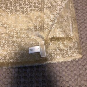 Accessories - Michael Kors gold scarf